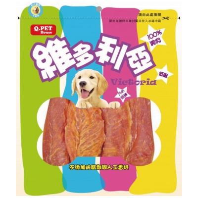 Q-PET維多利亞-香焙雞柳片160g【QP-HH-01N】