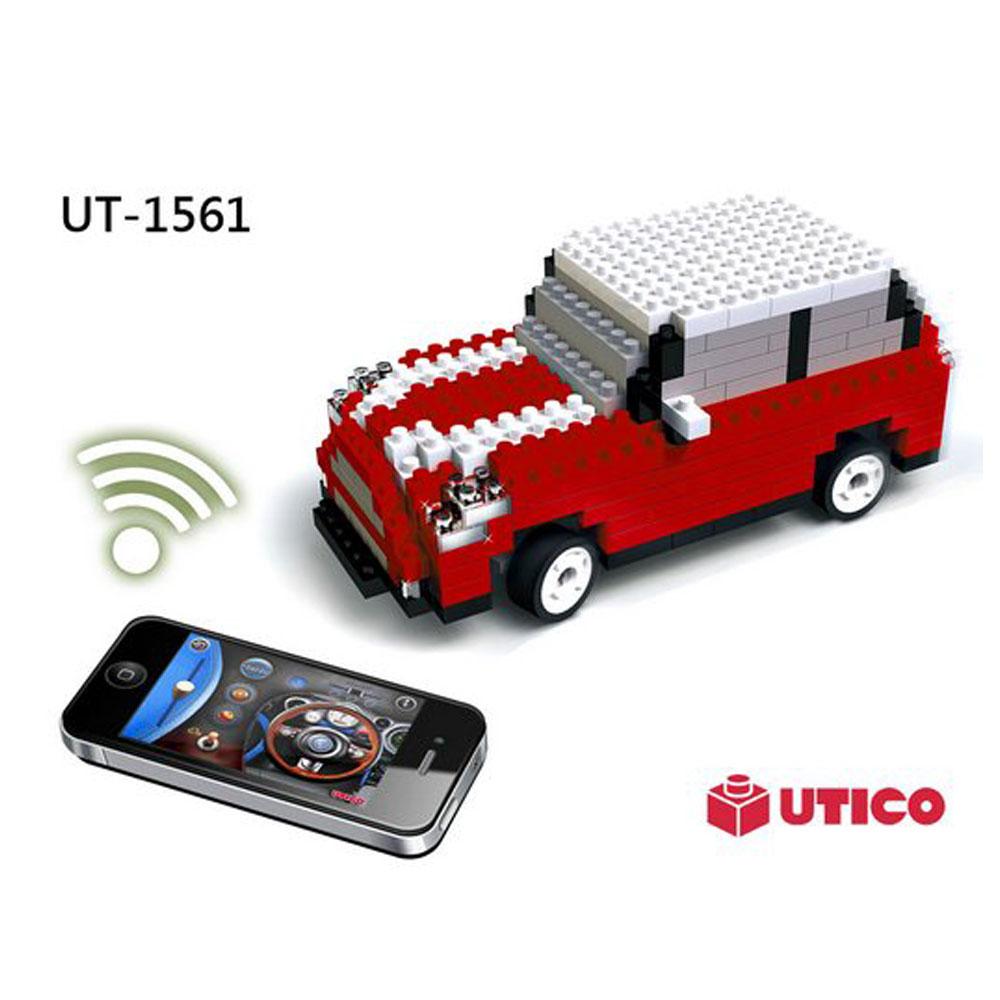 【賽先生科學】UTICO 藍芽遙控積木車-Mini