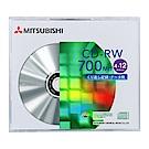 三菱 4-12X CD-RW 700MB (10片/單片盒裝)
