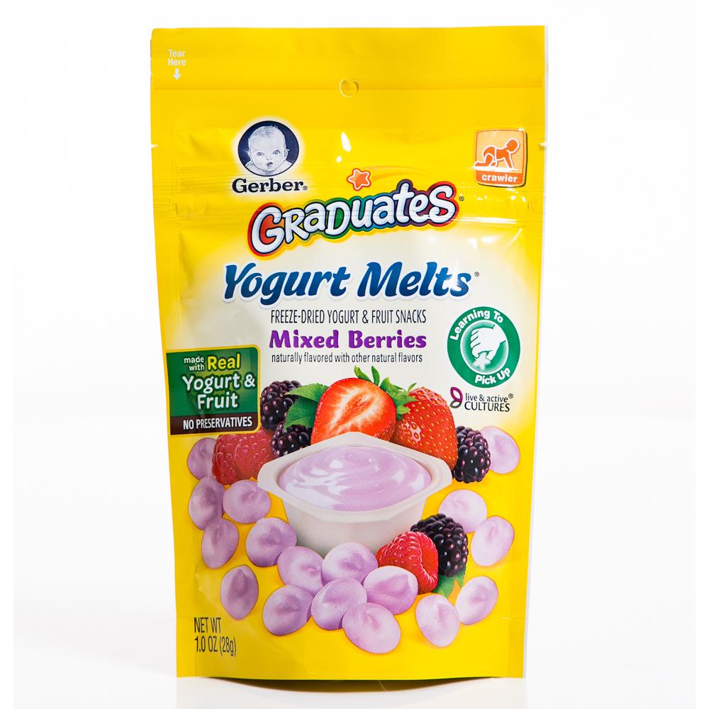 嘉寶 水果優格餅乾-綜合莓果(28g)