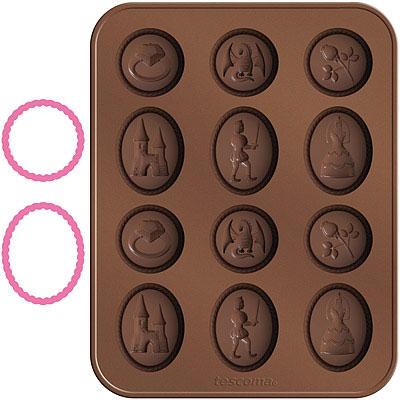 TESCOMA 巧克力模+層架切模(童話)