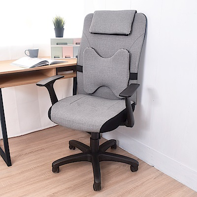 凱堡 貓抓皮 經典高背電腦椅辦公椅