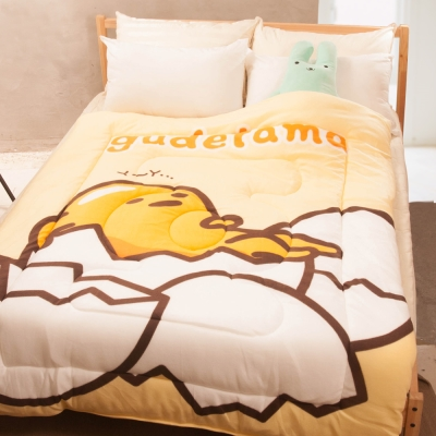 蛋黃哥 厚毯被 (150x195cm)