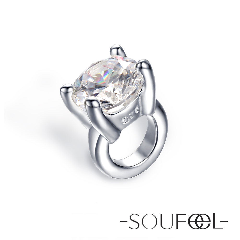 SOUFEEL 925純銀珠飾-串珠 朵拉系列 永恆