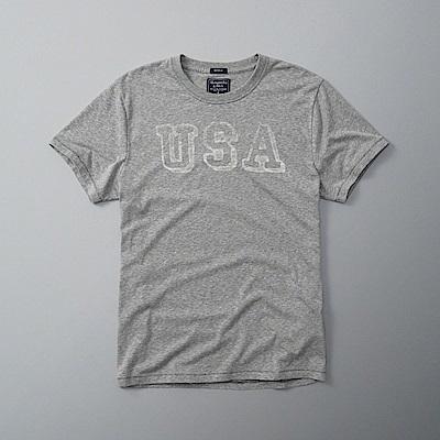 AF a&f Abercrombie & Fitch 短袖 T恤 灰色 0404