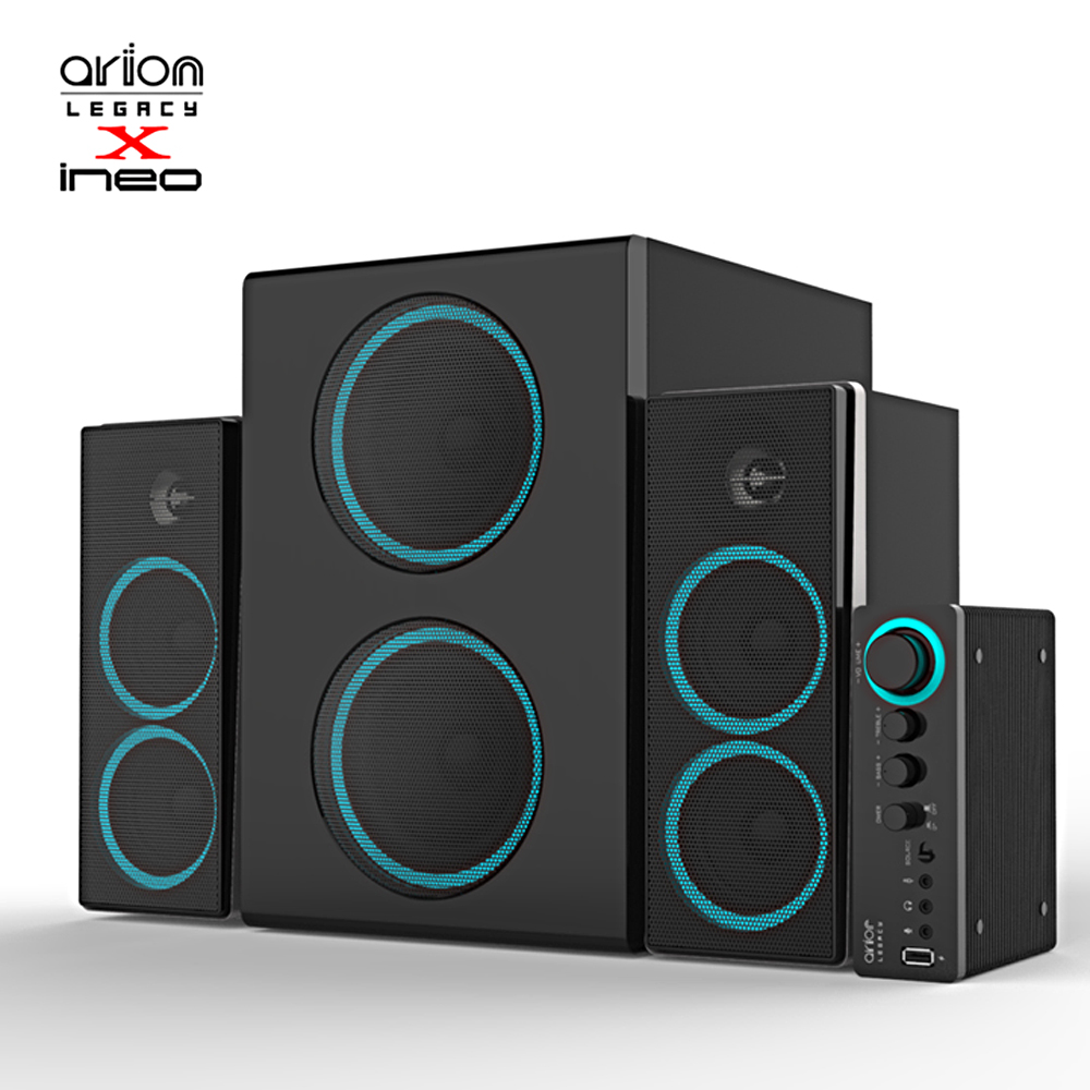 ineo Arion Legacy 2.1聲道多媒體音響 ARDS750