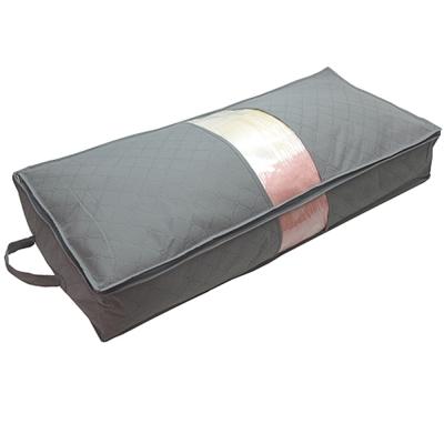 TV熱銷收納高手竹炭床下棉被衣物收納整理袋超值2入(70LX2)