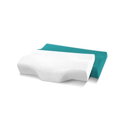 記憶枕 歐美熱銷款 超吸溼排溼表布 3D護頸型釋壓記憶枕 小尺寸 2入