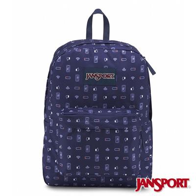 JanSport -SUPERBREAK系列校園後背包 -幽默數位