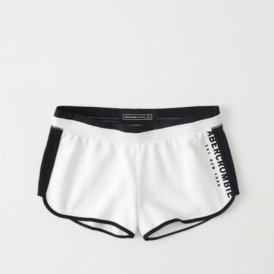 AF a&f Abercrombie & Fitch 女短褲 白色 0058