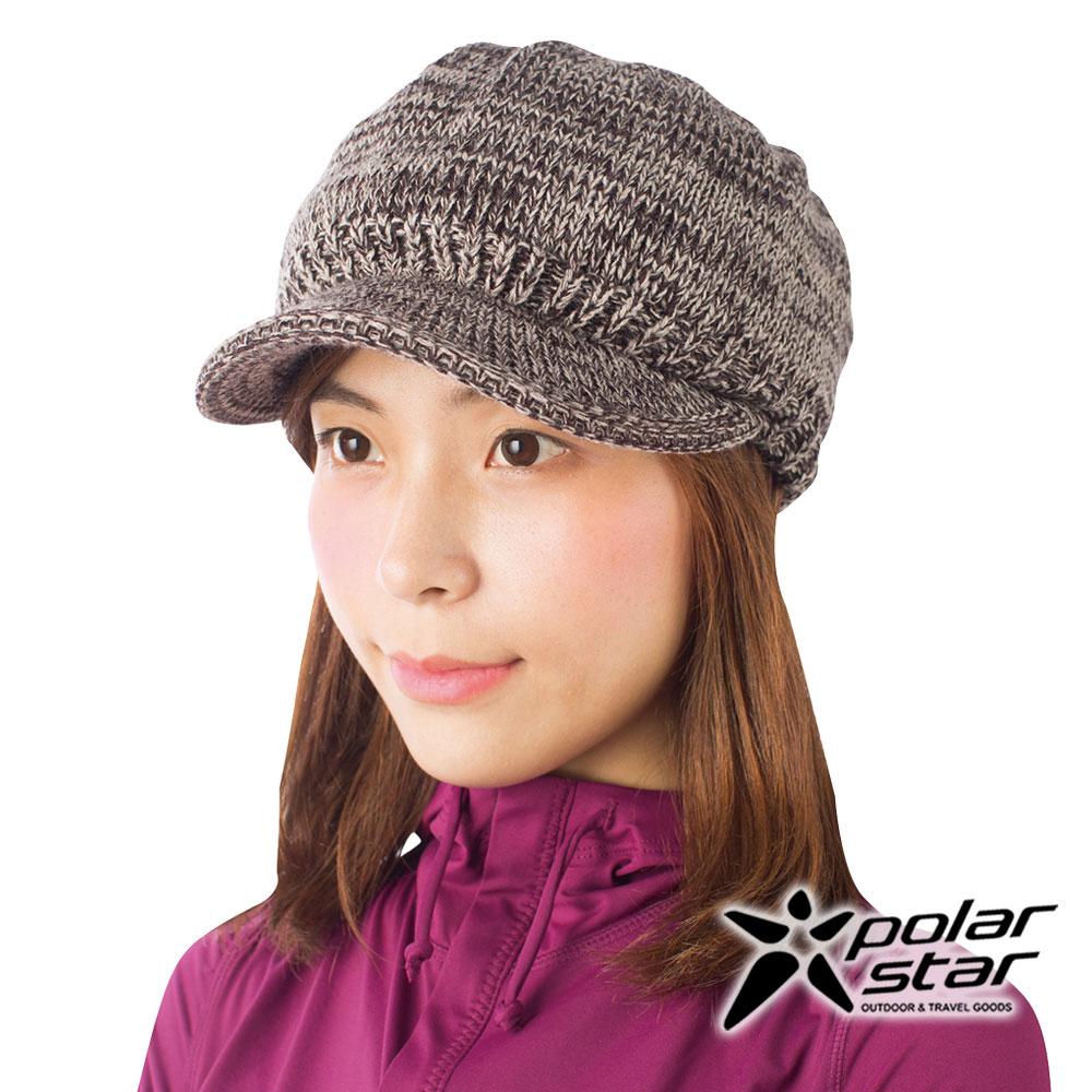 PolarStar 混色保暖馬球帽『棕』P16621