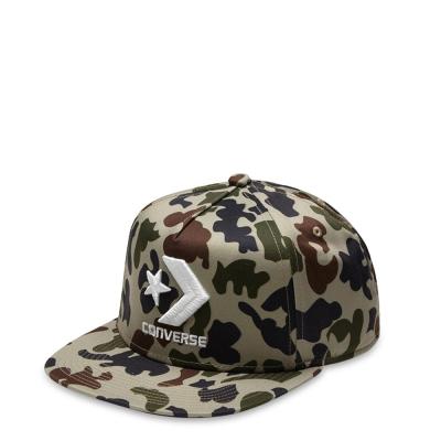 CONVERSE-棒球帽14282C212-淺棕迷彩