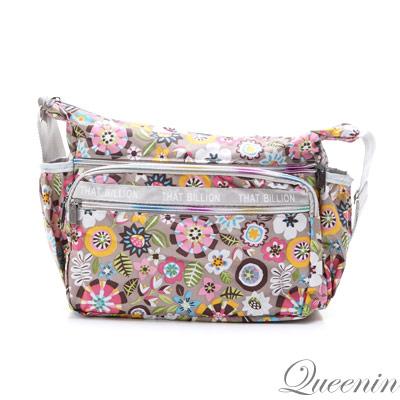 DF Queenin - 休閒日系輕盈款側背包-共2色