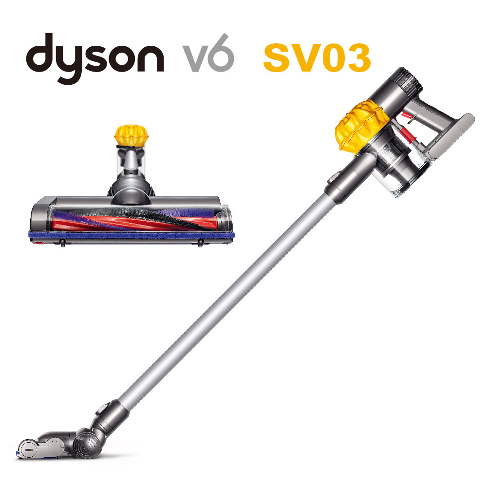 dyson V6 SV03 無線手持式吸塵器(月光黃) 限量福利品