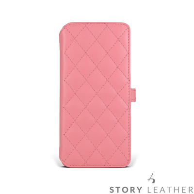 STORYLEATHER SAMSUNG S9 / S9+ 硬殼式側翻菱格 客製...