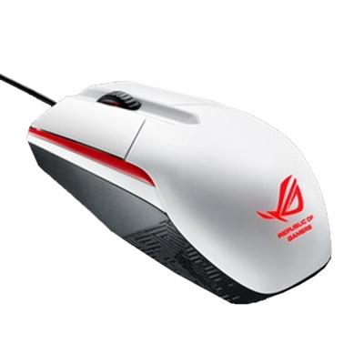華碩 ROG Sica 電競滑鼠-白色