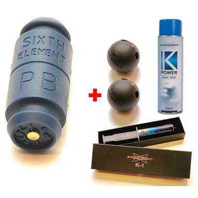 第六元素 藍色電集棒增強版 超值優惠限量套裝