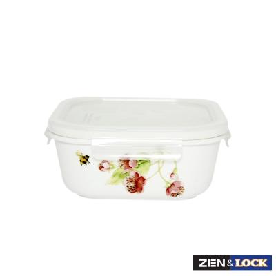 Zen Cook祕密花園微波盒 方 670ml
