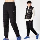【遊遍天下】時尚款JIS90%羽絨極致禦寒防風保暖羽絨褲P082黑