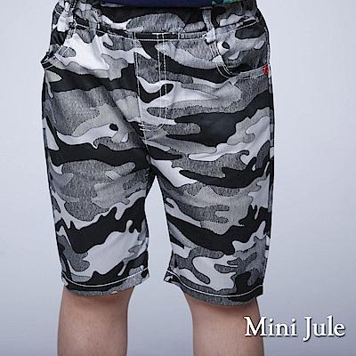 Mini Jule短褲 灰色迷彩休閒短褲(灰)