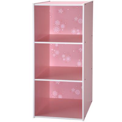 EASY-HOME-Life-Style-三格收納櫃-粉紅