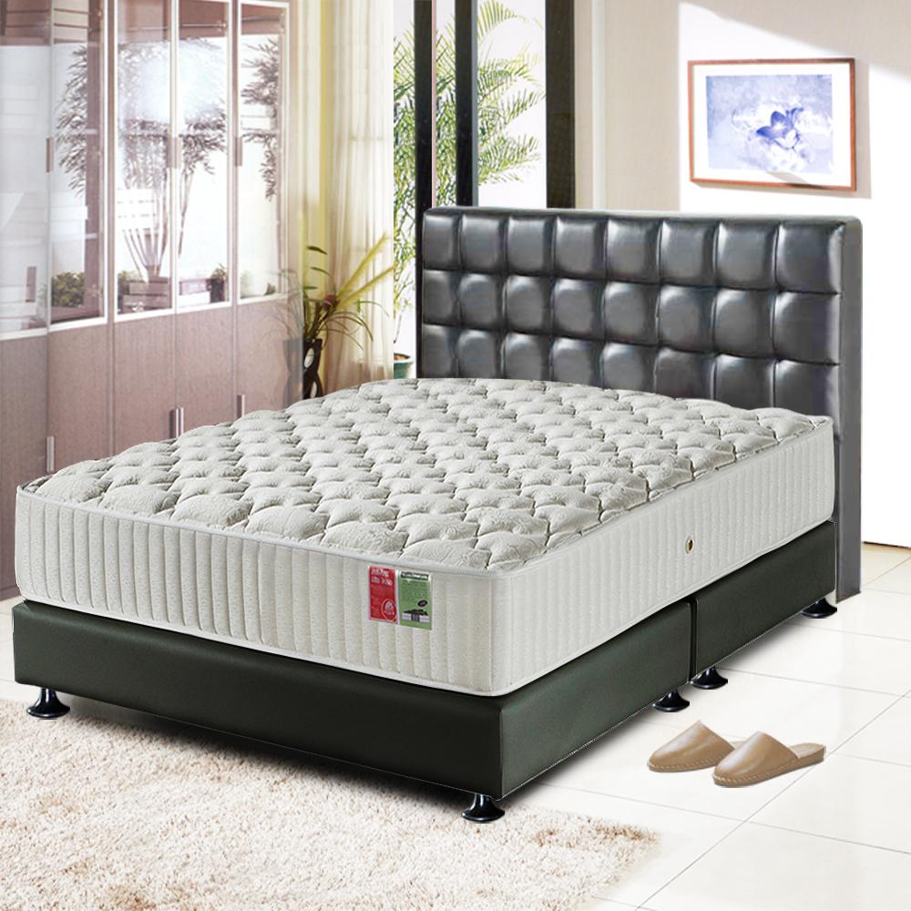 睡尚寶 飯店用蠶絲乳膠蜂巢獨立筒床墊-雙人加大6尺