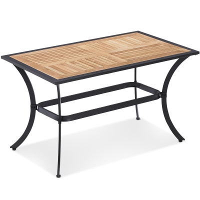 MY傢俬-休閒度假木質戶外長桌-120x70x70cm