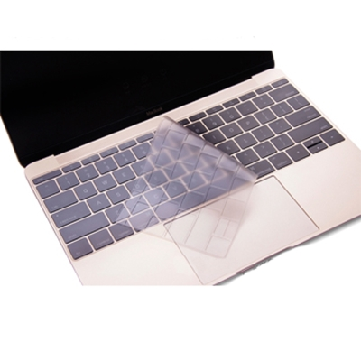 Apple New Macbook 12吋透明TPU鍵盤保護膜