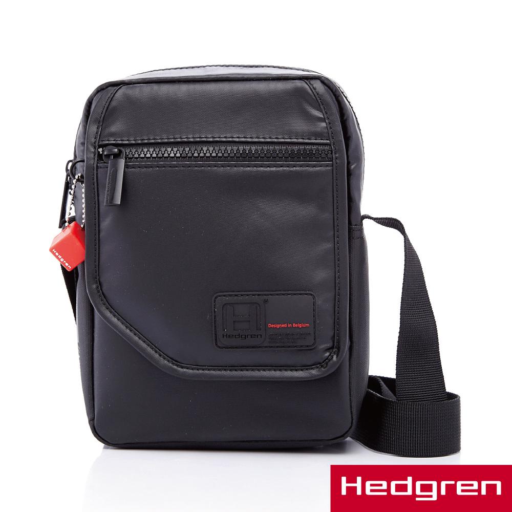 HEDGREN -HYPE極度輕量系列-隨身側背包-黑色