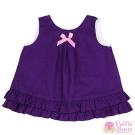 RuffleButts 小女童葡萄紫色甜美裙擺衣