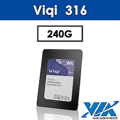 VIA Viqi 316-240GB 2.5 吋SSD固態硬碟