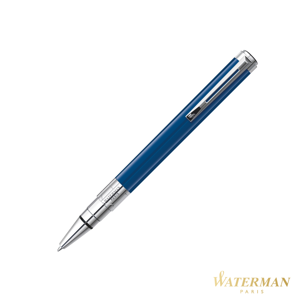 WATERMAN 透視系列 法藍白夾 原子筆