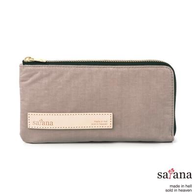 satana - 簡約實用長夾 - 松樹皮