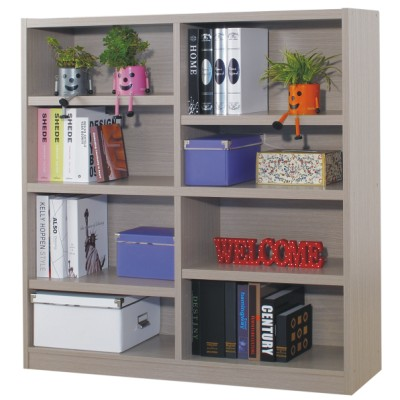 EASY HOME 八格 3 cm厚板書櫃-秋香色
