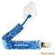 BooginHead 美國 藍色花朵款 奶嘴夾 product thumbnail 1