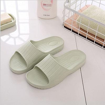 日創優品  38 度Q加厚柔軟室內外拖鞋-果漾綠 25 cm