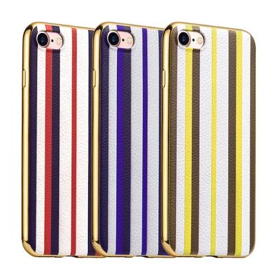 hoco Apple iPhone 7 閃耀條紋款軟套