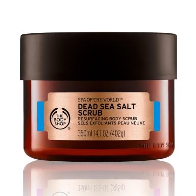 The Body Shop 以色列死海SPA 礦鹽淨化身體磨砂膏-350ML