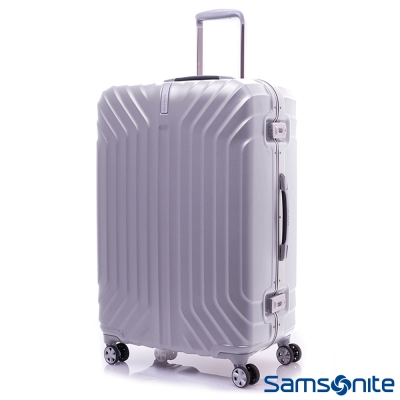 Samsonite新秀麗 28吋Tru-Frame PC時尚硬殼鋁框登機箱(炫銀)