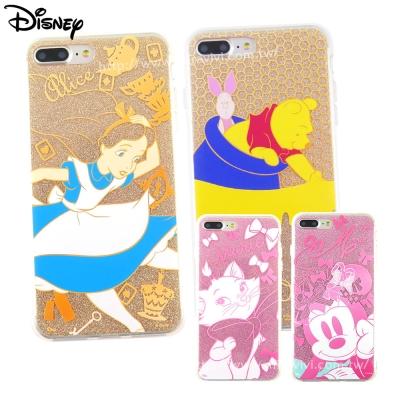 Disney迪士尼iPhone 8/7 Plus閃粉雙料保護殼-經典系列