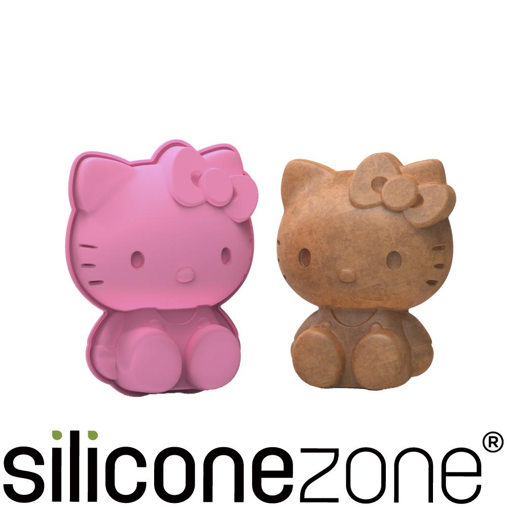 Siliconezone 施理康Hello Kitty立體蛋糕模