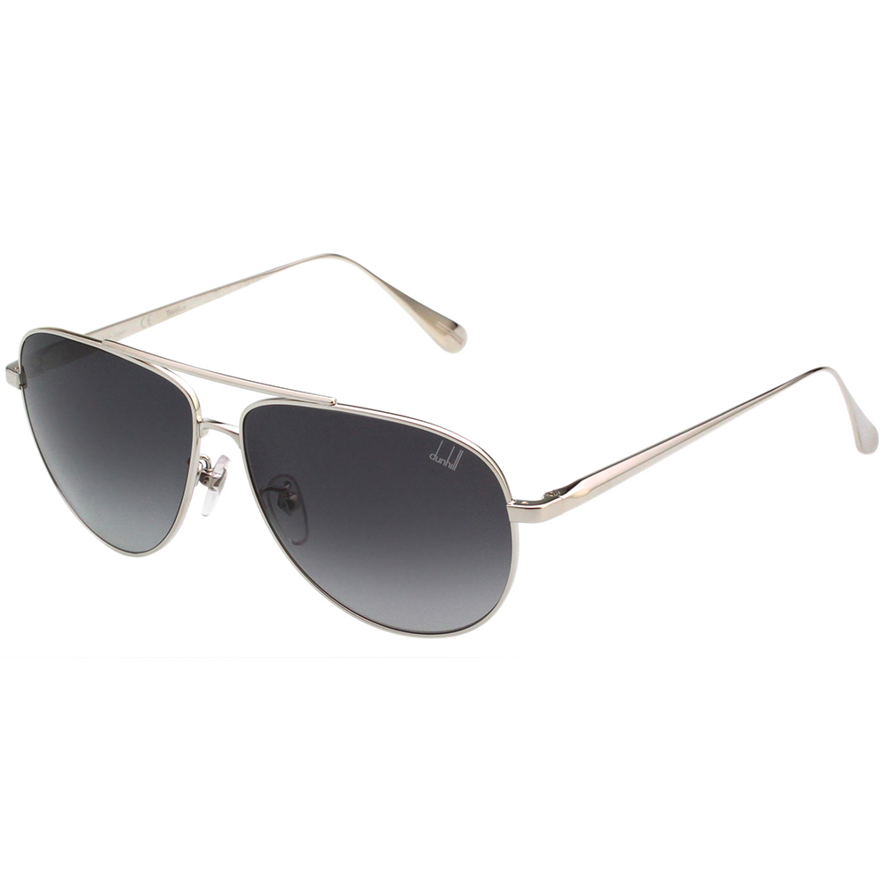 Dunhill  純鈦 飛官款 太陽眼鏡 (銀色)SDH017