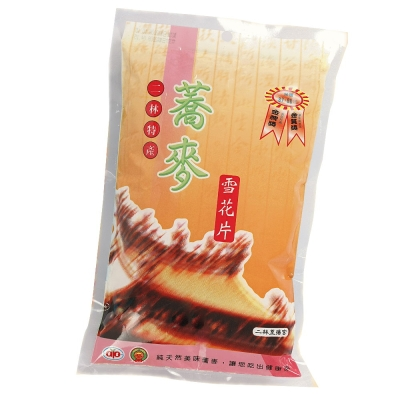 【二林農會】蕎麥雪花片(200gx5包)