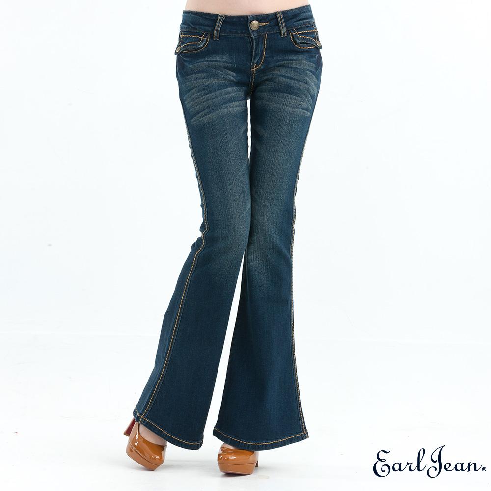 Earl Jean 低腰緊身大喇叭褲