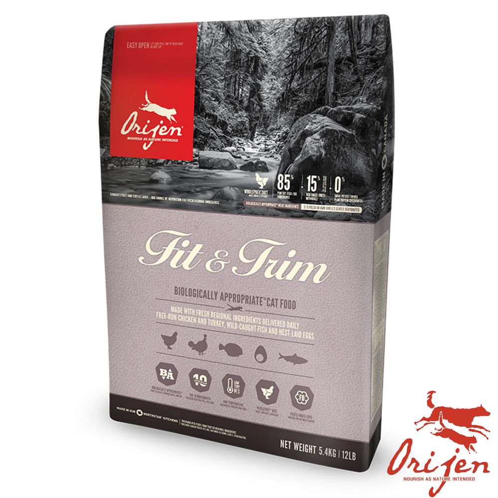 【Orijen 渴望】鮮雞無穀室內貓糧 5.45公斤