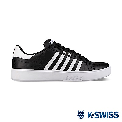K-Swiss Pershing Court CMF休閒運動鞋-男-黑/白