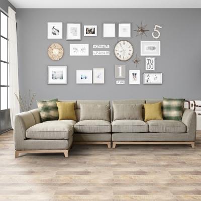 擇木深耕-柏克萊L型環保健康乳膠布沙發