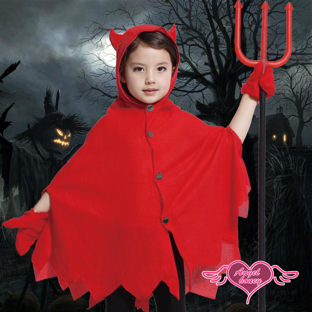 天使霓裳 地獄小惡魔 萬聖節童裝系列(紅)