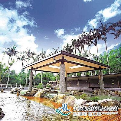 (三峽)大板根森林溫泉渡假村 雙人入園門票+露天溫泉SPA