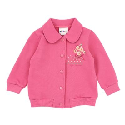 愛的世界 MYBEAR 純棉娃娃領束口壓扣外套/2~4歲